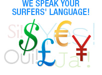 We speak your surfers language